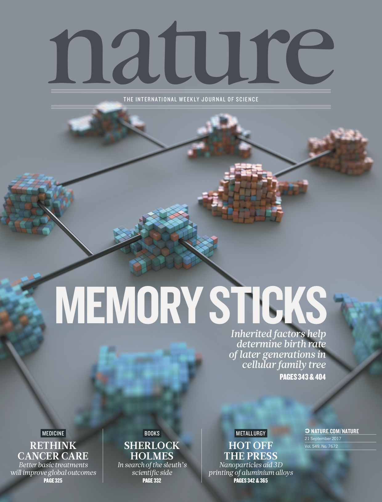 Hee Won's paper made the cover of Nature!